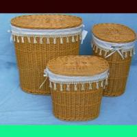 Large picture Dolioform basket made by wood