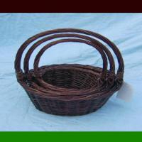Large picture Willow basket with handle handicrafts & crafts