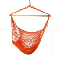 Large picture outdoor garden cotton rope hanging chair