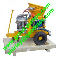Large picture GZ-3 anti-explosion dry shotcrete machine