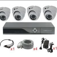 Large picture 4ch cctv security system