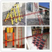 Large picture best factory FRP Ladders, extension ladder