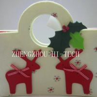 Large picture Christmas Holiday Gift Felt Bag
