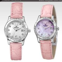 Large picture Hot sell MOP dial  ladies genuine leather watches