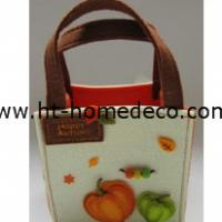 Large picture Autumn gift felt basket