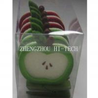 Large picture Promotion gift Apple shape felt clothespin