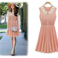 Large picture Fashion lady chiffon dress