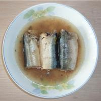 Large picture canned mackerel in brine 425g