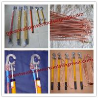 Large picture factory High Voltage Portable Grounding Rod