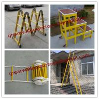 Large picture factory Straight fiberglass ladder,FRP Ladders