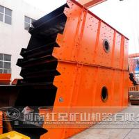 Large picture circular vibrating screen