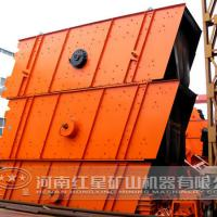 Large picture vibrating screen machine