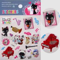 Large picture Decorative Epoxy Stickers, Cute Epoxy stickers