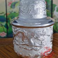 Large picture Silver Wine Pot Wine Warmer