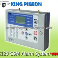 Large picture New LCD Display Menu Office GSM Alarm System 120