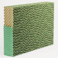 Large picture evaporative/cellulose cooling pad