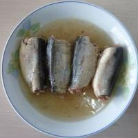 Large picture canned sardine in brine 155g