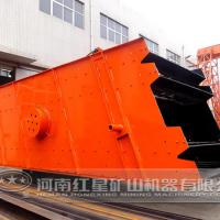 Large picture sand screening machine