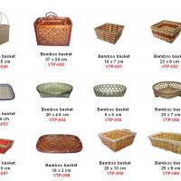 Large picture vietnam rattan bamboo basket