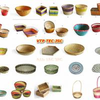 Large picture vietnam rattan basket best price