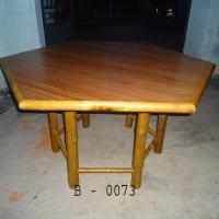 Large picture vietnam natural bamboo table