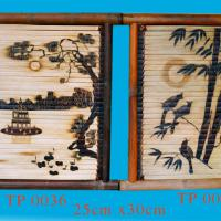 Large picture vietnam bamboo painting best price