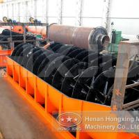 Large picture ore spiral classifier
