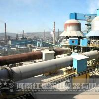 Large picture ore rotary kiln
