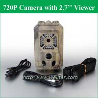 Large picture live video cameras for deer hunting