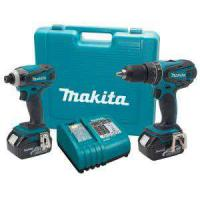 Large picture Makita 18-Volt LXT Lithium-Ion Combo Kit (2-Tool)