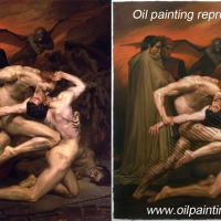 Large picture Oil painting reproduction for sale