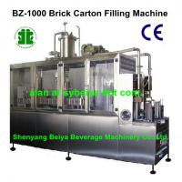 Semi Automatic Liquid Gable-Top Filling Machinery