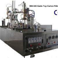 Large picture Pure Water Manual Gable-Top Filling Machine