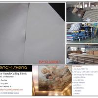 100% FR PU Polyester Stretch Ceiling Fabric