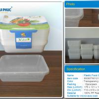 Large picture 650ml rectangular disposable food containers