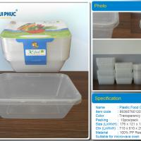 Large picture 750 ml Rectangular disposable food containers