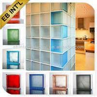 Large picture decorative glass block price