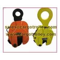 Large picture steel plate lifting clamps instruction