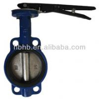 Large picture handle wafer butterfly valve manufacture