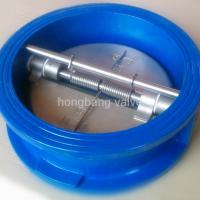 Large picture Wafer type Dual Plate Check Valve