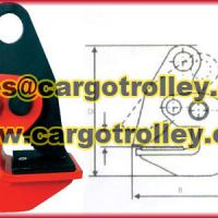 Horizontal steel lifting clamps application