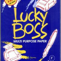 Large picture Lucky boss A4 copy paper 80gsm/75gsm/70gsm