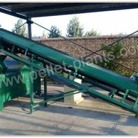 Large picture Flat Die Biomass Briquette Machine