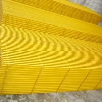 Large picture pultruded fiberglass grating, frp grating
