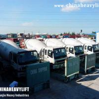 Large picture CHINAHEAVYLIFT Concrete Mixer Truck to Morocco