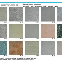 Large picture vinyl marble floor tile