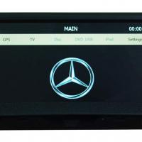 Large picture car audio Mercedes-Benz C-W204 navigation