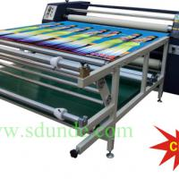 Large picture Clothing Roller Sublimation Heat Transfer Machine