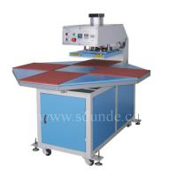 Large picture Automatic Four-Stations Heat Press Machine