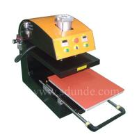 Large picture Pneumatic Single Station Drawer Heat Press Machine